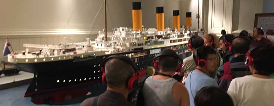 visita titanic museu maritim